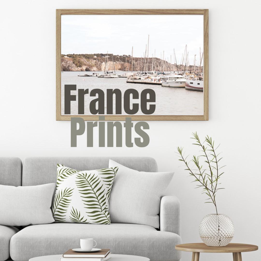 France wall prints