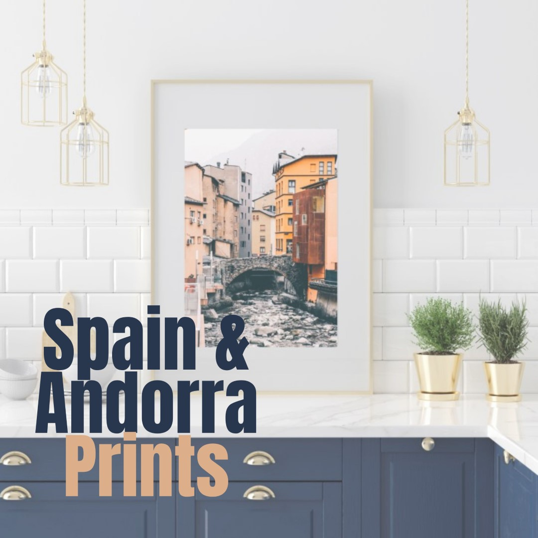 תמונות קיר של אנדורה וספרד